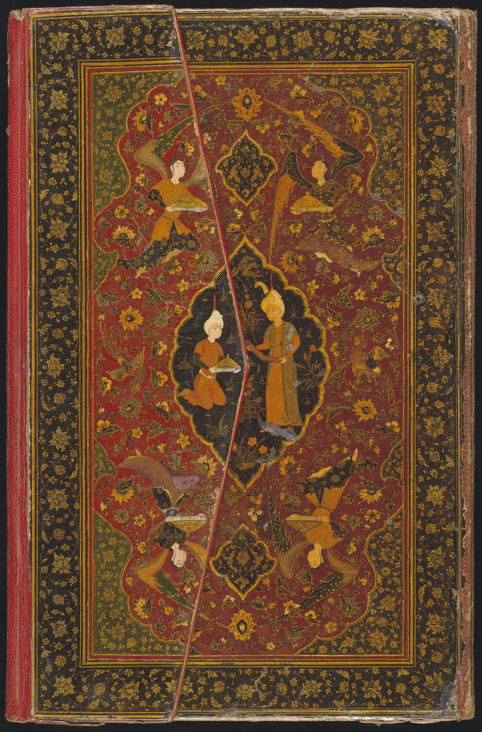 Moten forteller en historie fabelaktig formidling for Divan e hafez